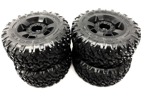 Arrma BIG ROCK 4x4 3s BLX - TIRES & Wheels (Ragnarok tyres rims DBoots ARA4312v3