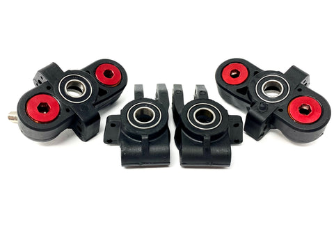 Arrma FELONY 6s - HUBS (blocks bearings Front/Rear limitless Typhon ARA7617V2