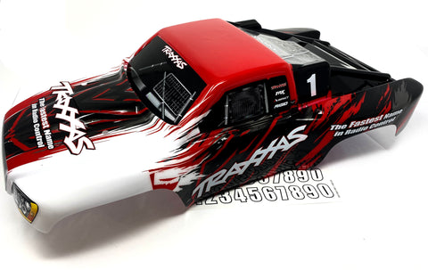 SLASH 4x4 VXL - BODY Shell (RED #1, decal painted prographix Traxxas 68086-4