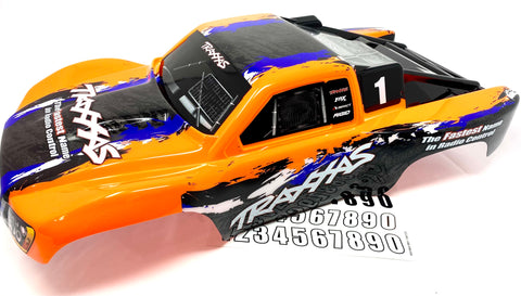 SLASH 4x4 VXL - BODY Shell (ORANGE decal prographix Traxxas 68086-4