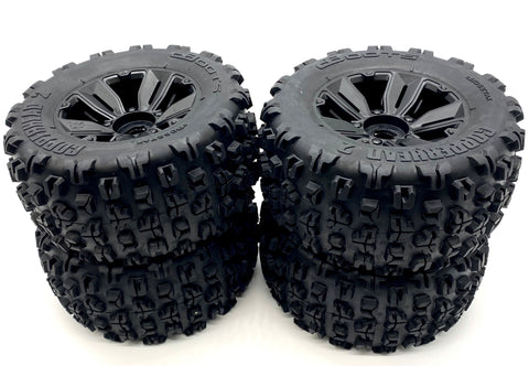 KRATON 8S EXB - TIRES & Wheels (tyres rims DBoots COPPERHEAD2 BB MT Arrma ARA5208