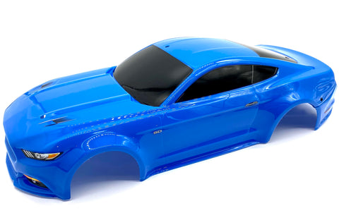 4-TEC 2.0 Ford Mustang Body, Painted Blue 8312 shell cover Traxxas 83044-4