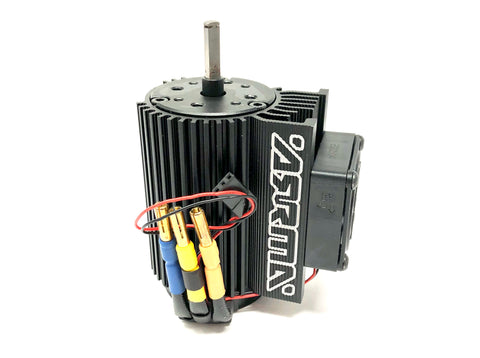 Arrma FELONY 6s - MOTOR (Brushless 2050kv, mount, fan FIRMA Infraction ARA7617V2