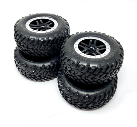 SLASH 4x4 VXL - TIRES & Wheels (12mm SCT Tyres spec Traxxas 68086-4