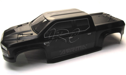 Arrma NERO Body Shell (BIG ROCK BLX Black painted polycarbonate cover AR106017