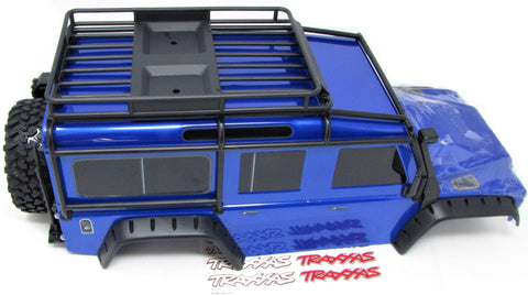 TRX-4 DEFENDER - BODY (BLUE) Tire Fenders Land Rover Trail Traxxas 82056-4
