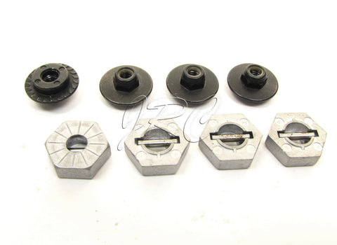 Savage XL FLUX HP 17mm WHEEL NUTS & hex set pins X 5.9 Octane HPI racing 112609