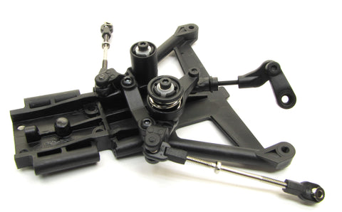 Fiesta ST Rally STEERING set, bellcranks servo saver (LCG) rods Traxxas 74054-6