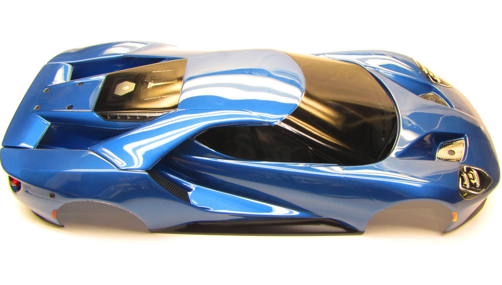 Ford Gt Body Painted Blue A Shell Cover Traxxas
