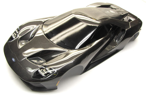 4-TEC 2.0 Ford GT Body, Painted GREY 8311X shell cover Traxxas 83056-4