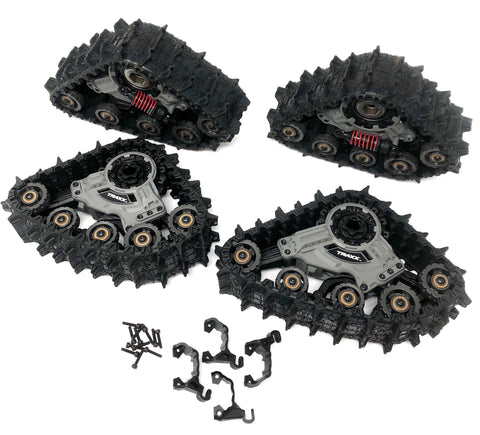 TRX-4 TRAXX - Deep-Terrain Track Set (Assembled wheels defender Traxxas 82034-4
