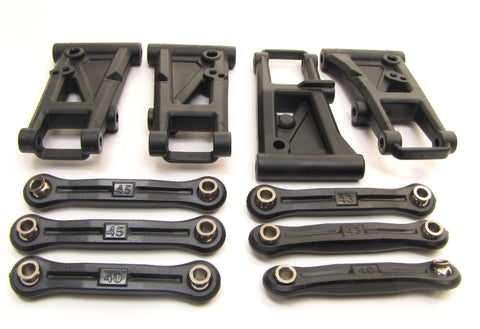 4-TEC 2.0 SUSPENSION A-ARMS, and camber links 8331 8333  Traxxas 83056-4