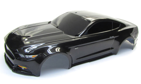 4-TEC 2.0 Ford Mustang Body, Painted Black 8312x shell cover Traxxas 83056-4