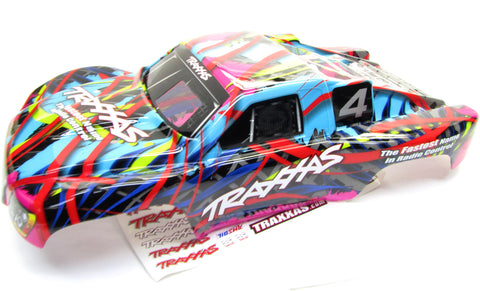 Nitro Slash BODY Shell (Hawaiian Cover & Decals Traxxas 44056-3