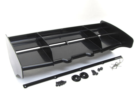 Hot Bodies D817 - WING (Rear Spoiler) black molded  HBS204124 new Buggy