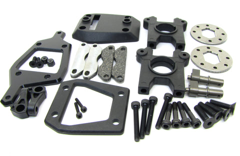 Hot Bodies D819 - BRAKE Set (disc center diff Alum Chassis Brace D817 HBS204450