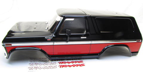 TRX-4 Ford Bronco - BODY Cover, RED (Shell Factory new Painted Traxxas 82046-4