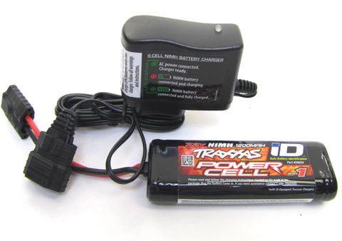 1/16 Summit BATTERY & iD Peak Wall CHARGER E-revo Rally 2925X Traxxas 72054-5
