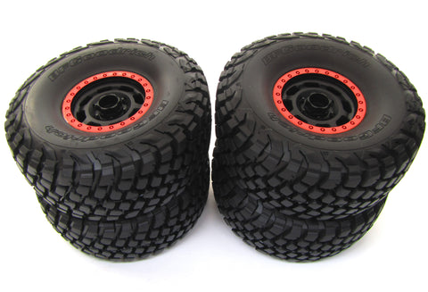 Unlimited Desert Racer UDR - TIRES & WHEELS (ORANGE) tyres KR3 Traxxas 85076-4