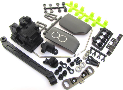Kyosho Inferno MP9 TKI4 REAR SUSPENSION PARTS sway CNC Rear Toe TKI2 KYO33001B