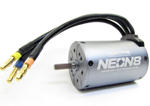 Mad CRUSHER VE - MOTOR (Brushless NEON 8 wp 4-pole 2100kv mp9e kyosho KYO34253B