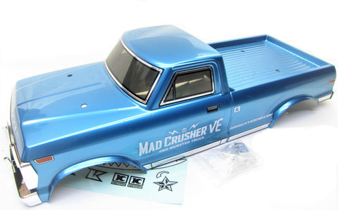 Mad CRUSHER VE - BODY cover (BLUE Truck shell kyosho MAB401 KYO34253B