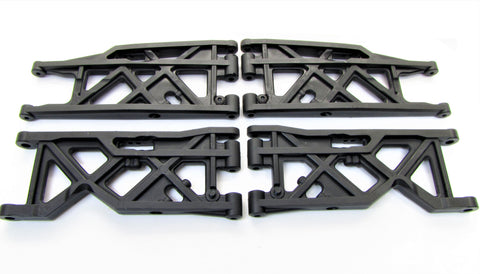 HoBao Truggy SS - A-ARMS (Lower Suspension Front & Rear SST Upper hyper OFNA