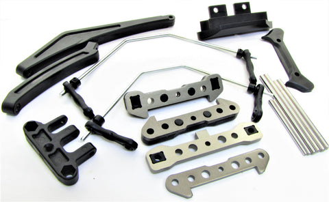 HoBao Truggy SS - Suspension Set, Braces Hinge Pins hyper Hobao SSe OFNA