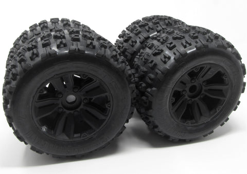 KRATON 6s EXB - TIRES & Wheels (tyres rims DBoots Copperhead 2 Arrma ARA106053