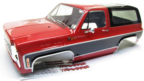 TRX-4 Chevy BLAZER - BODY Cover, RED (Shell Factory new TRA8130A Painted Traxxas 82076-4