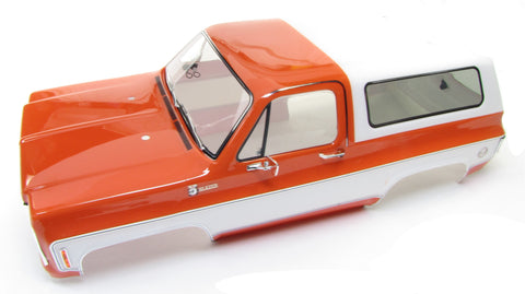 TRX-4 Chevy BLAZER - BODY Cover, ORANGE (Shell Factory new TRA8130g Painted Traxxas 82076-4