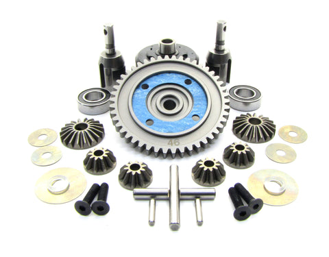 MBX7TR CENTER DIFFERENTIAL 46t Steel Spur Gear Truggy Mugen MUGE2019