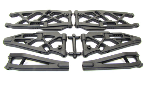 MBX7TR A-ARMS (Lower suspension front rear upper) Truggy Mugen MUGE2019