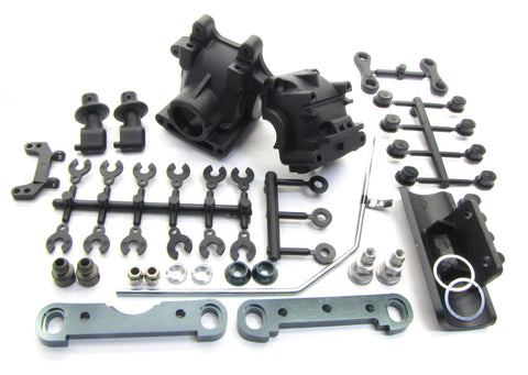 MBX7TR FRONT SUSPENSION SET sway bulkhead Braces Arm mount Mugen MBX6TR MUGE2019