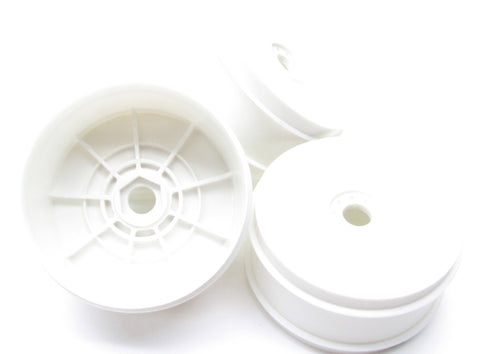 Kyosho Inferno MP10 - WHEELS / RIMS White dish 17mm TKI3 tki4 KYO33015B