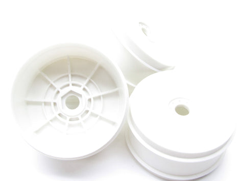 Kyosho Inferno MP9e EVO WHEELS / RIMS White dish 17mm TKI3 KYO34105b