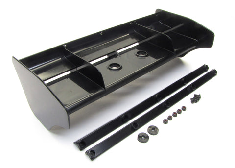 Kyosho Inferno MP10 - BLACK REAR WING spoiler tki4 mp9e Wickerbills KYO33015B