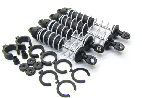 BIGFOOT SHOCKS w/ White springs dampers & Coils 4 Skully craniac Traxxas 36084-1