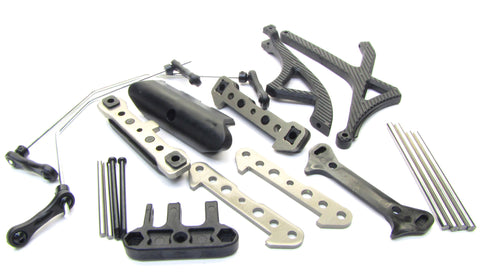 HoBao 1/8 Hyper 7 SS - SUSPENSION Pins, Braces & Sway Bars (90015 90016 OFNA