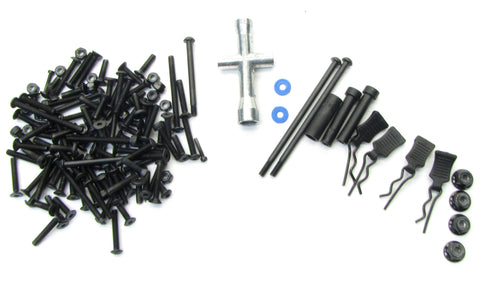 Axial Yeti SCORE SCREW SET (Wheel nuts, pins, hardware screws & t-wrench AX90050