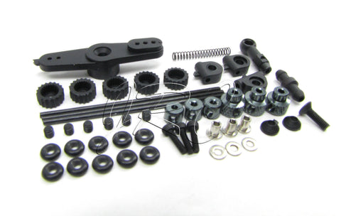 MBX7TR LINKAGE SET (BAG-M) (servo throttle horn parts toppers Mugen MUGE2019