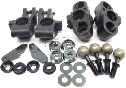 MBX7TR Front KNUCKLES (Uprights Spacers arms nuts & Kingpin Balls Mugen MUGE2019