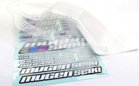 MBX8-WE CLEAR BODY shell cover & Window Mask E1071 requires painting MUGEN E2025