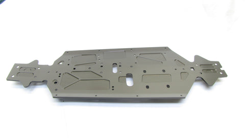 MBX8 CHASSIS PLATE (E2423; 3mm hard-anodized aluminum MUGEN E2021