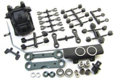 ECO MBX8 FRONT SUSPENSION SET (Sway bulkhead gearbox mounts MUGE2022 Mugen Seiki