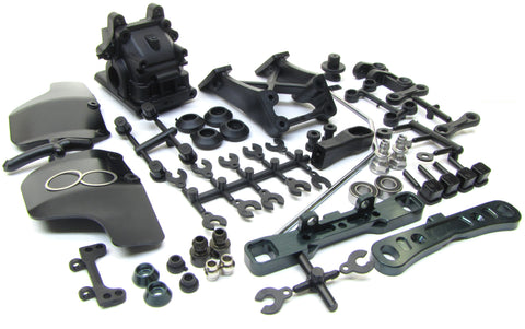 MBX8-WE REAR SUSPENSION SET (Sway Bar, Arm, Toe in mount, Gear box MUGEN E2025