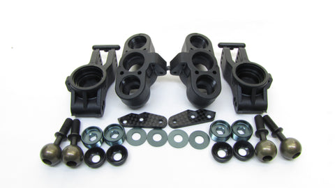 ECO MBX8 FRONT & REAR UPRIGHTs (knuckles, hub carriers pillowball MUGE2022 Mugen