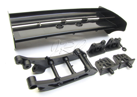 Kyosho ST-RR EVO.2 BLACK REAR WING & Mount spoiler MP9 tki3 Inferno KYO33004B
