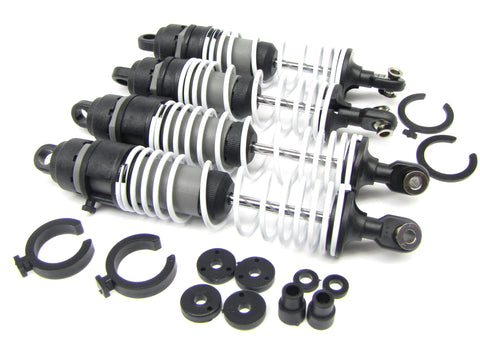 Fiesta ST Rally SHOCKS (4 front rear dampers & Springs ultra Traxxas 74054-6