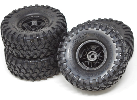 TRX-4 TRAXX - Wheels & Tires (Assembled SPORT canyon defender Traxxas 82034-4